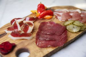 Selection of salumi