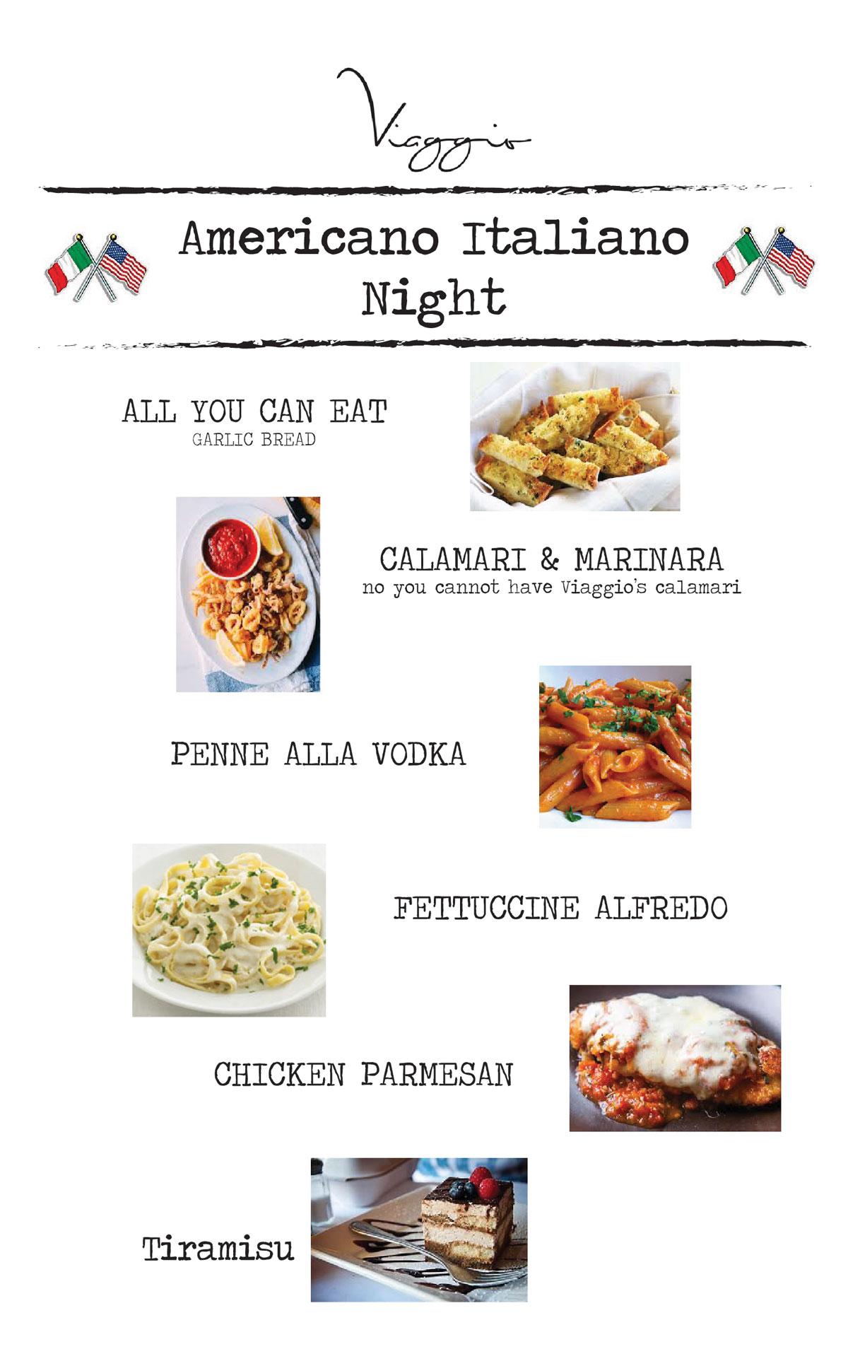 American-Italiano-Night-menu