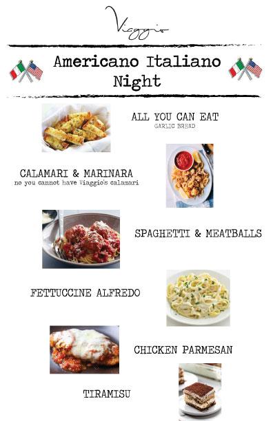 americano italian night